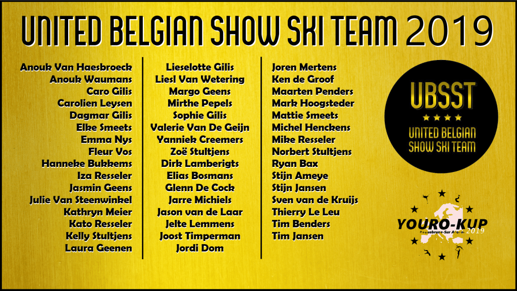 United Belgian Water Ski Show Team