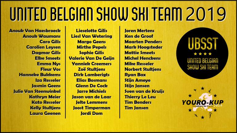 United Belgian Water Ski Show Team